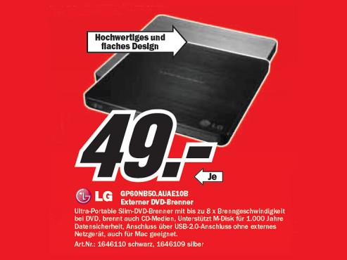 LG GP60NB50.AUAE10B ©Media Markt