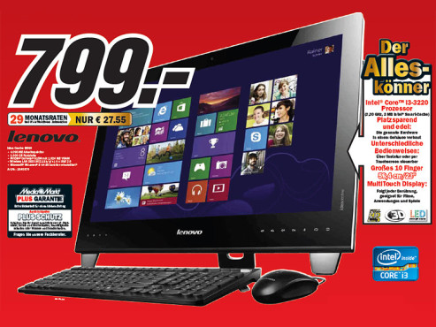 Lenovo Idea Center B540 © Media Markt