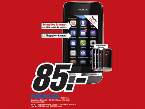 Nokia Asha 311 ©Media Markt