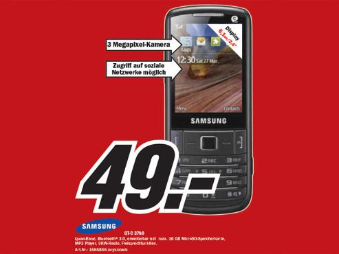 Samsung GT-C 3780 ©Media Markt