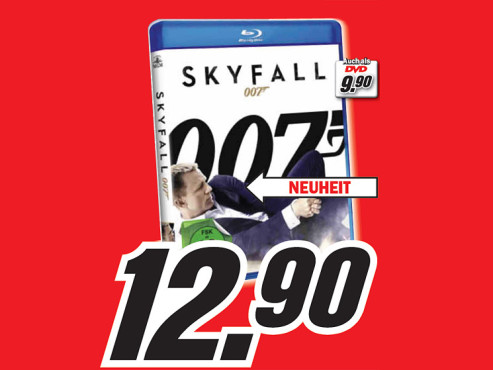 Skyfall (DVD oder Blu-ray) © Media Markt