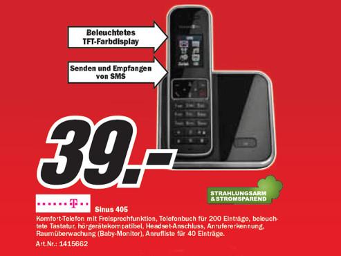 Telekom Sinus 405 ©Media Markt
