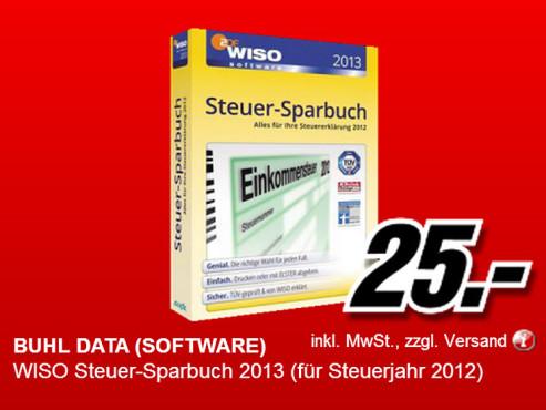 WISO Steuer-Sparbuch 2013 ©Media Markt