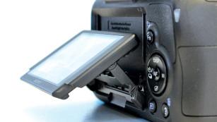 Kontrollmonitor Sony SLT-A58 ©COMPUTER BILD