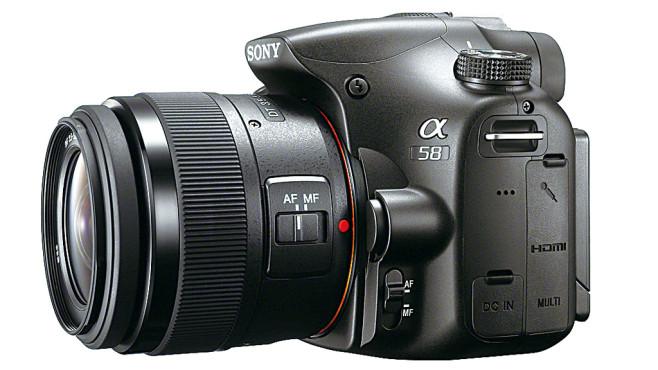 Sony Alpha SLT-A58 ©COMPUTER BILD