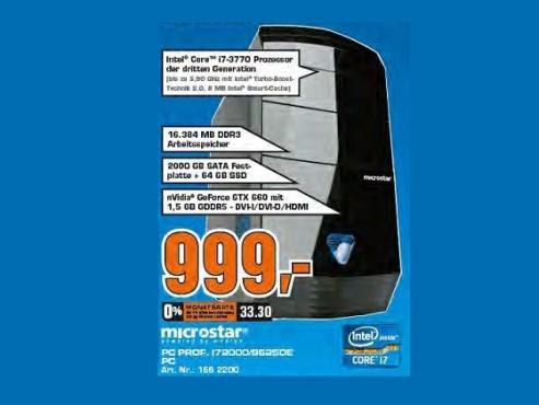 Microstar Professional i72000 / 8625 DE ©Saturn