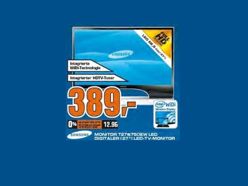 Samsung SyncMaster T27B750EW LED ©Saturn