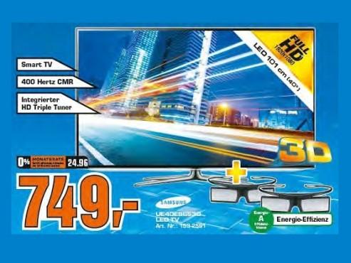 Samsung UE40ES6530 ©Saturn