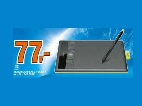 Wacom Bamboo Pen & Touch (CTH-470K) © Saturn