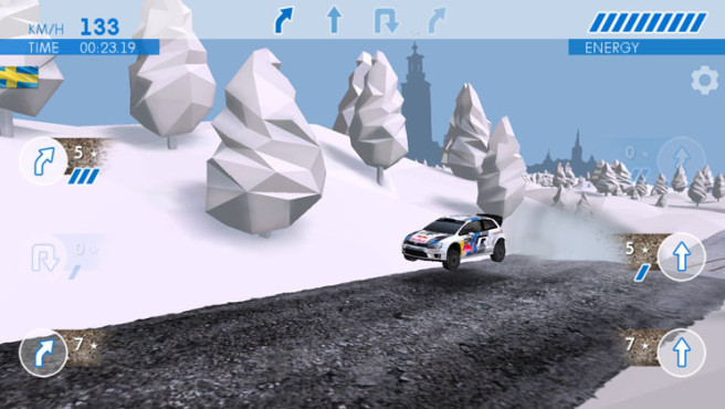 Rennspiel Rally The World – The Game: Sprung © Volkswagen