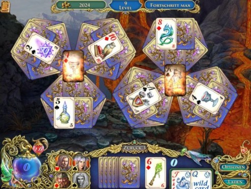 Screenshot Die Chroniken von Emerland – Solitaire © Intenium