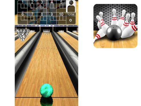 3D Bowling © Italy Games