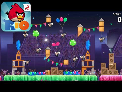 Angry Birds Rio ©Rovio Mobile Ltd.