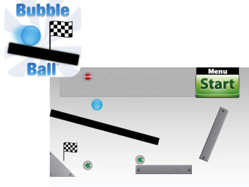 Bubble Ball ©Nay Games