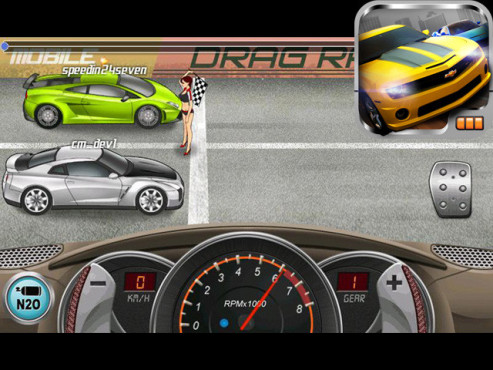 Drag Racing © Creative Mobile
