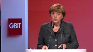 Merkel eröffnet CeBIT 2013 ©COMPUTER BILD