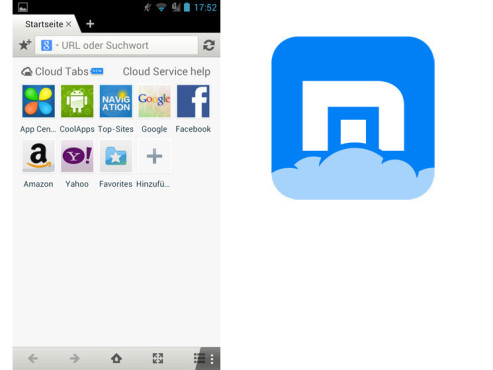 Maxthon Browser © Maxthon Ltd.