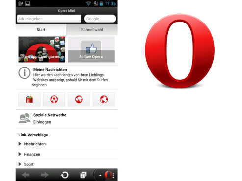 Opera Mini Browser © Opera Software ASA
