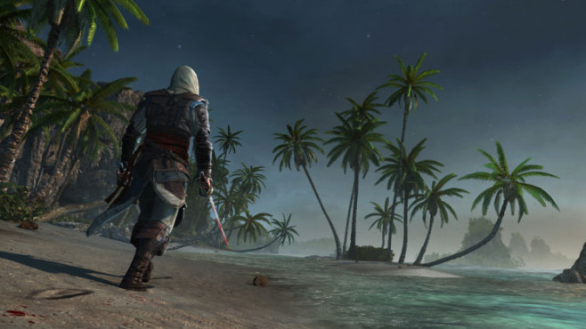 Actionspiel Assassin's Creed 4 – Black Flag: Strand © Ubisoft