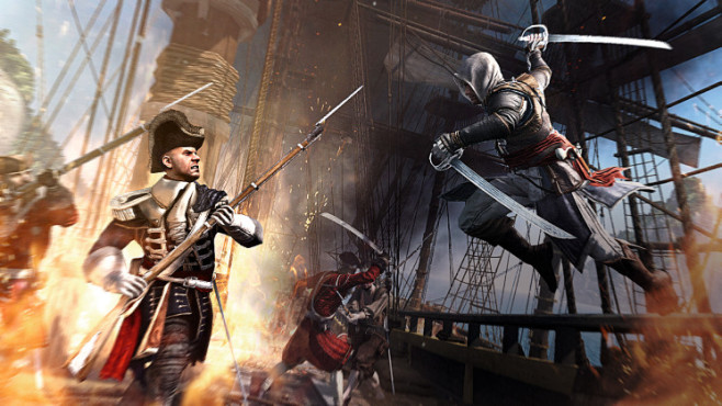 Assassin's Creed 4: Kapern © Ubisoft