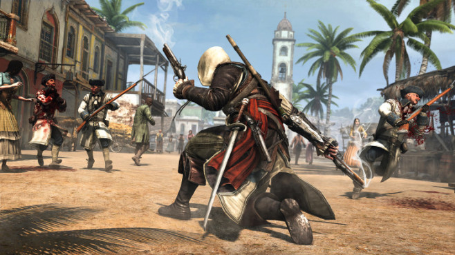 Assassin's Creed 4: Land © Ubisoft