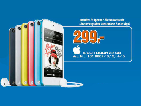 Apple iPod touch 5G 32GB © Saturn