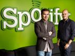 Spotify-Gründer Daniel Ek und Martin Lorentzon ©Spotify