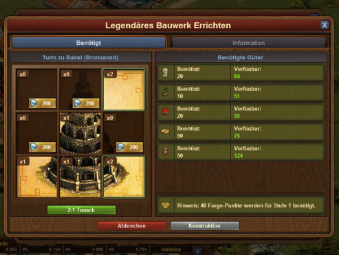 Forge of Empires � Legend�re Geb�ude © InnoGames
