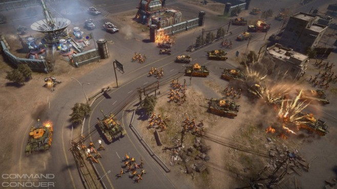 Command & Conquer: Satellit © Electronic Arts