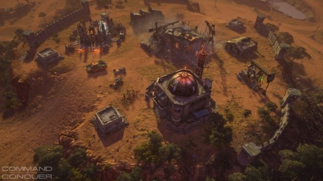 Strategiespiel Command & Conquer: Wüste © Electronic Arts