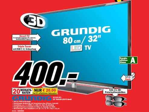 Grundig 32 VLE 971 ©Media Markt