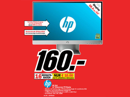 Hewlett-Packard HP Pavilion 23xi © Media Markt