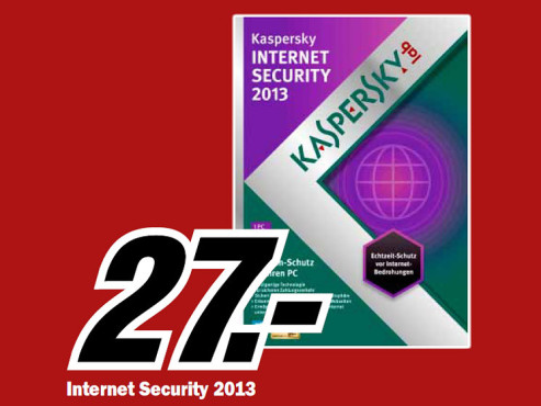 Kaspersky Internet Security 2013 © Media Markt
