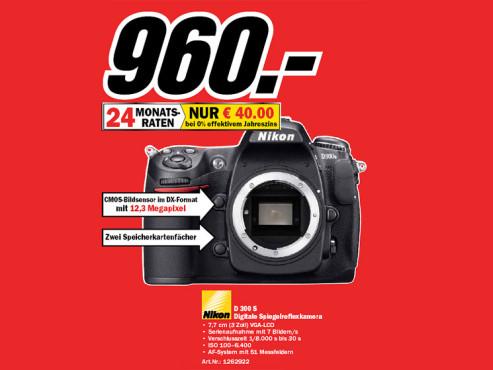 Nikon D300s ©Media Markt