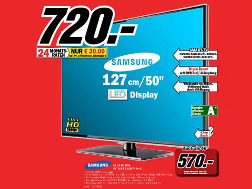 Samsung UE50ES5700 ©Media Markt