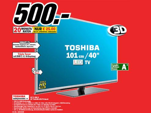 Toshiba 40TL968G ©Media Markt