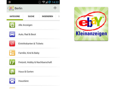 ebay Kleinanzeigen © eBay Classifieds Group