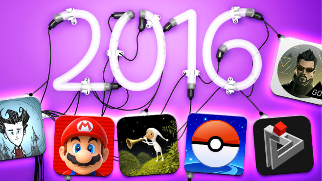 Spiele-Apps des jahres 2016 © istock.com/NatanaelGinting, Nintendo, Niantic, Klei Entertainment, Square Enix, Amanita Design, gamebra.in