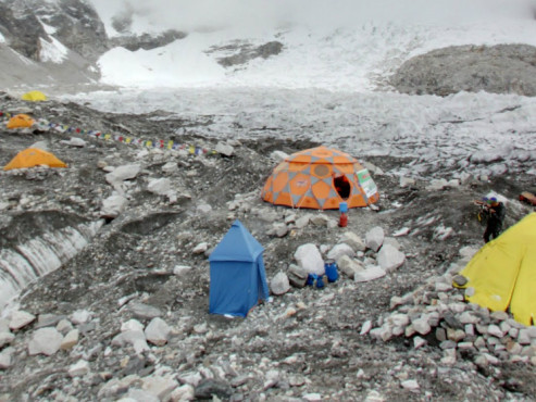Everest Base Camp © Google