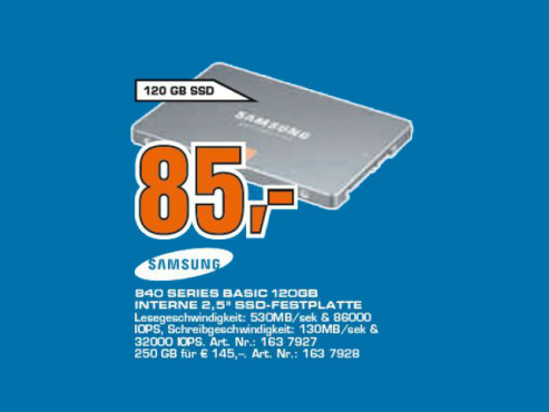 Samsung 840 Series 120GB Basic © Saturn
