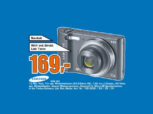 Samsung WB30F ©Saturn