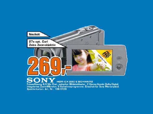 Sony HDR-CX280E ©Saturn