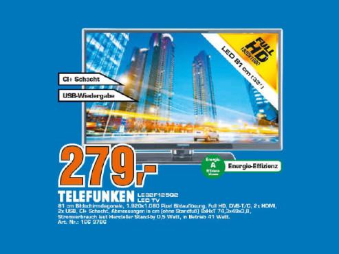 Telefunken LE32F125Q2 ©Saturn