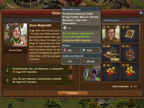 Forge of Empires: Das Osterevent © InnoGames