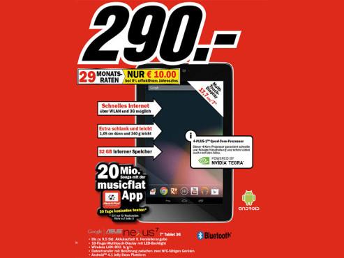 Asus Google Nexus 7 32GB 3G ©COMPUTER BILD