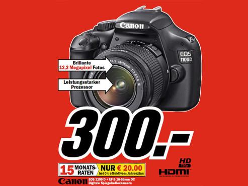Canon EOS 1100D Kit 18-55 mm ©COMPUTER BILD