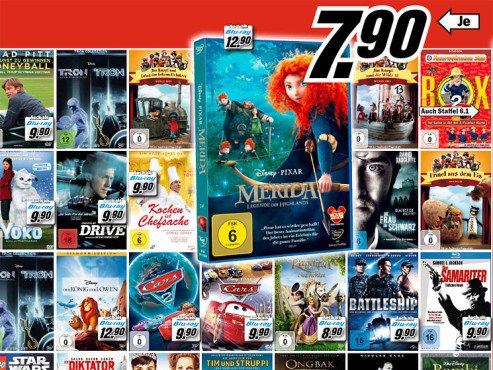Film-DVDs ©COMPUTER BILD