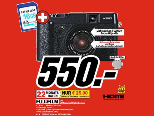 Fujifilm X20 ©COMPUTER BILD