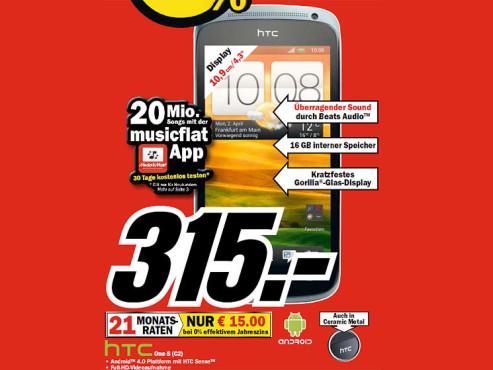 HTC One S C2 ©COMPUTER BILD