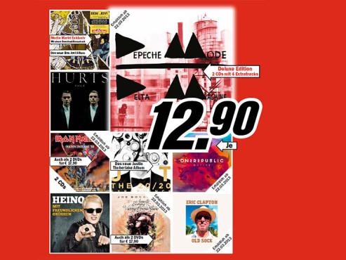 Musik-CDs ©COMPUTER BILD